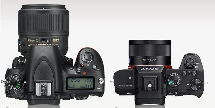 Nikon D750 vs Sony A7 II