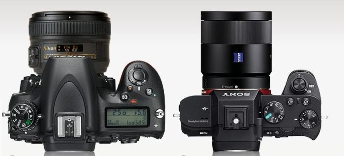 D750 with 50mm F1.8  vs SOny A7 II 55mm F1.8